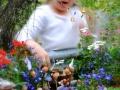Of magical fairy garden play