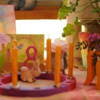 waldorf birthday party ideas