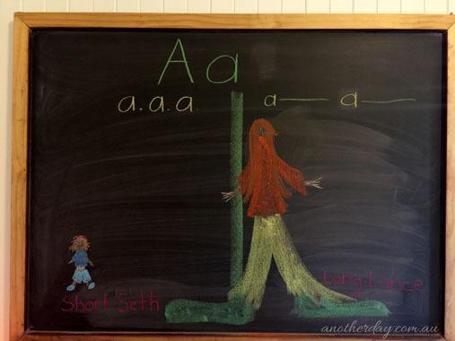 Waldorf Teaching Vowels